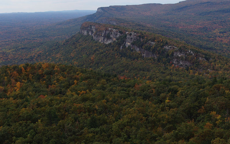 Shawangunk Mountain Scenic Byway ridge view