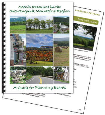Shawangunk Mountain Scenic Byway plan book