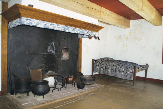 Bevier Elting House Kitchen Bedroom