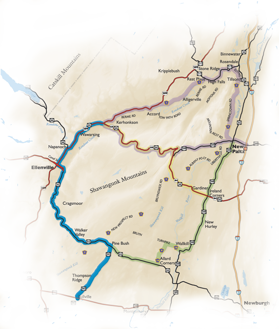 Byway Map Southern Route