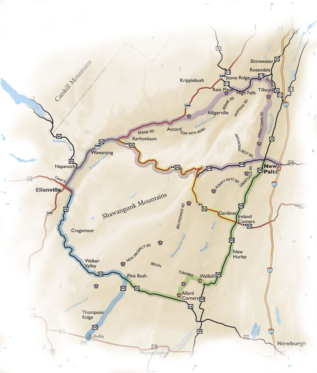 Byway Map All Routes