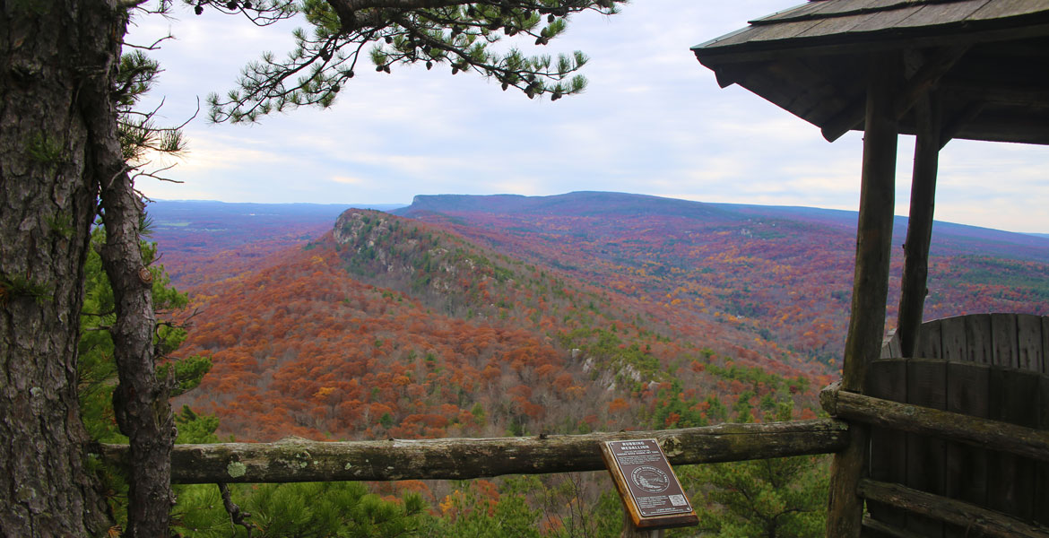 Cliff View from Mohonk Mtn House gazebo
